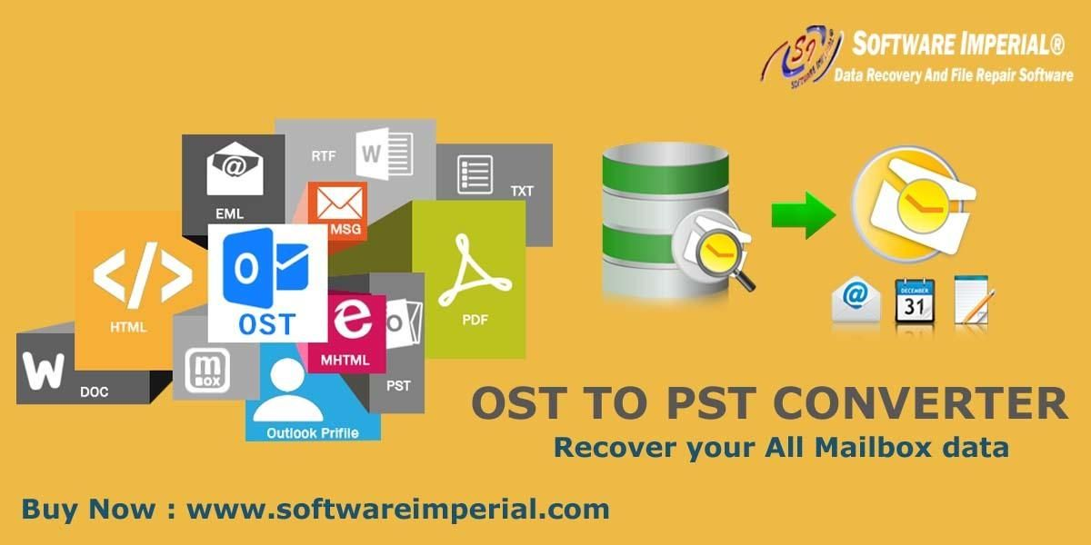 Use Advance Featured Osttopstconvertersoftware And Get Ost Files