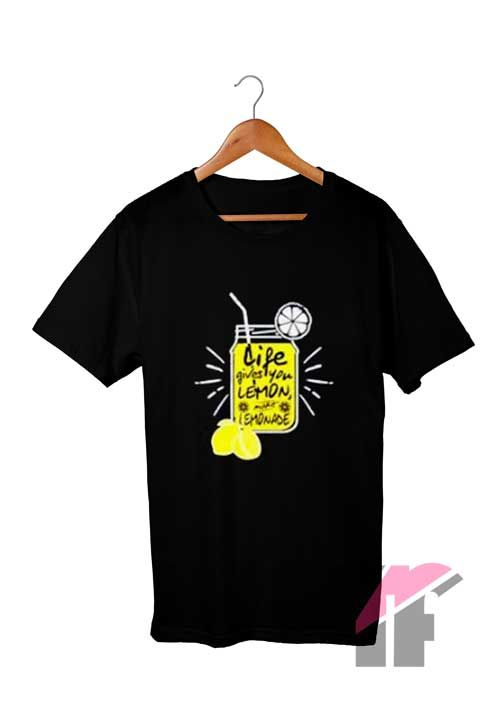 0bbfccdef Vegan Love Life Gives You Lemon T Shirt Custom T Shirts in 2019 | T Shirt |  Custom shirts, T shirt, Shirts