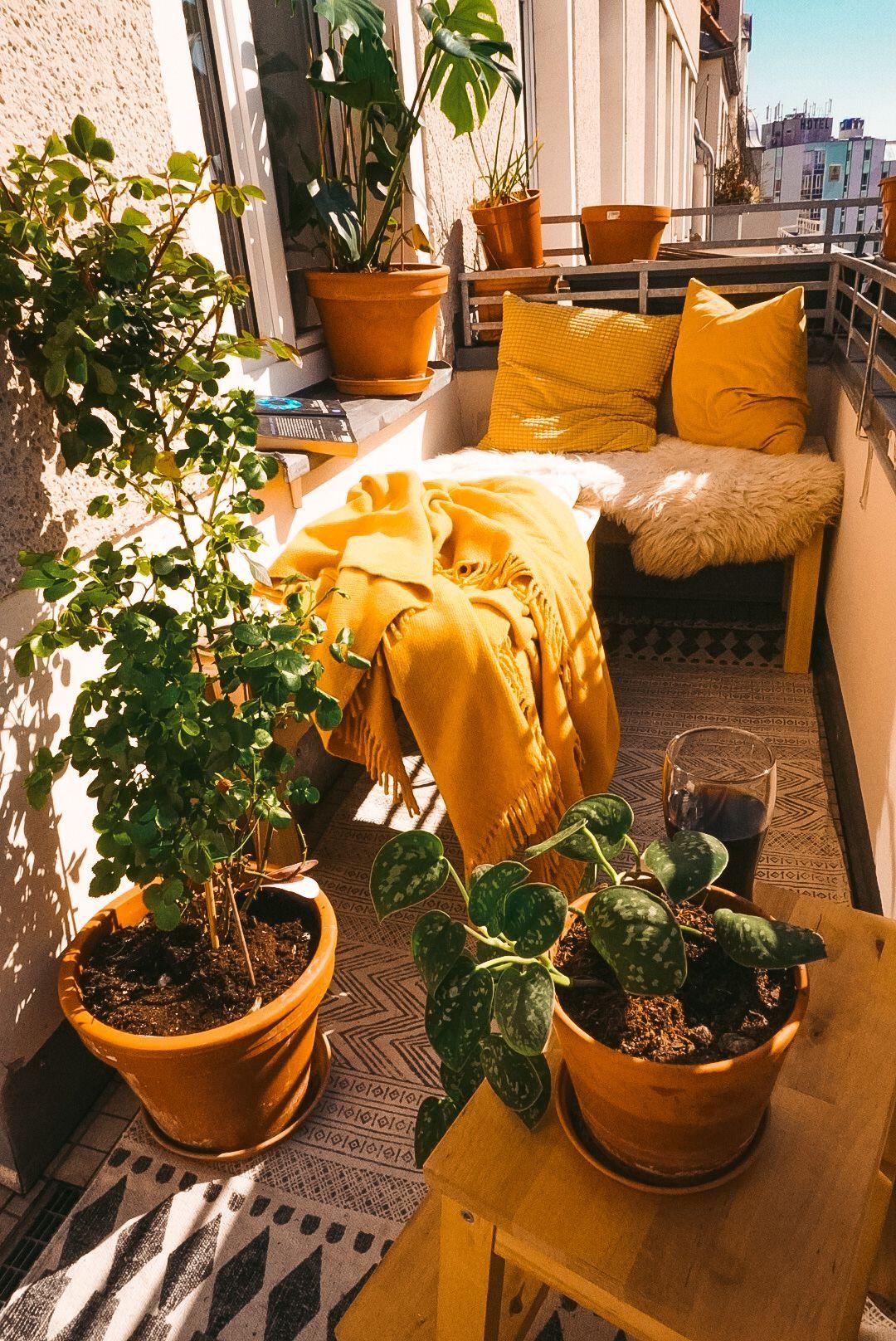 Photo of Lerne hier, wie du deine Wohnung noch gemütlicher gestalten kannst. #Balcony Ga…
