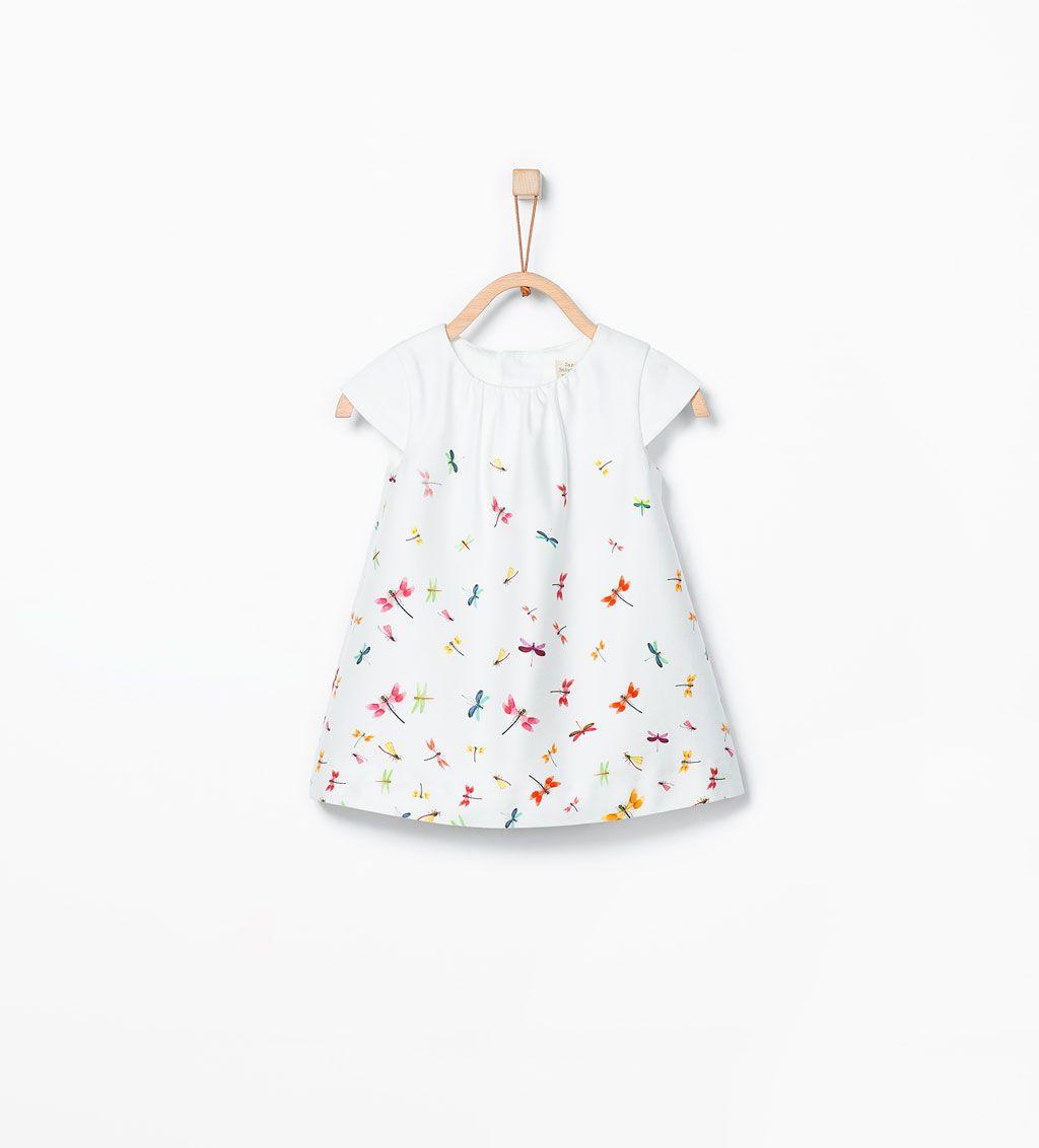 ZARA - KIDS - Dragonfly print dress | Baby Girl | Baby ...