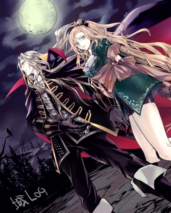 Castlevania Alucard & Maria Renard by gれl in 2020
