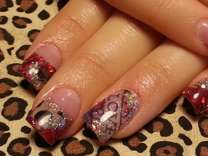 Ed hardy and leopard | Eva Hastings-manicurist, nail artist. love my ...