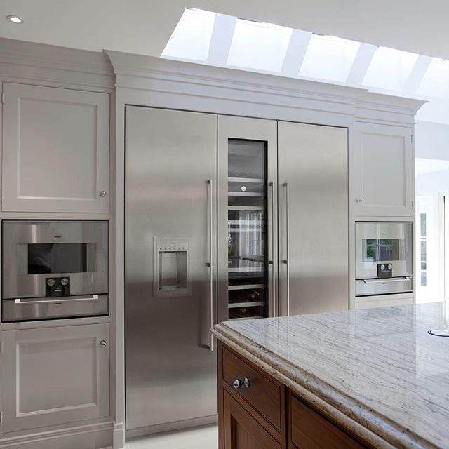 Gaggenau Vario Fridge, Wine Cooler And Freezer With Combination Ovens And  Warming Drawers Below | WOW | Home Decoration | Pinterest | Wine Coolers,  Drawers ...
