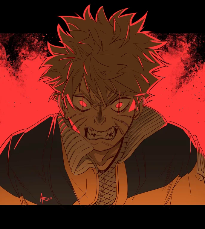 Photo of Naruto! Art by me