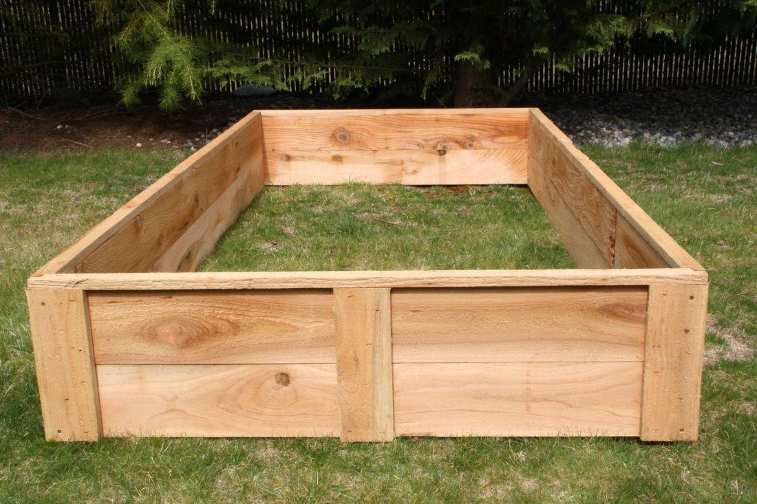 USA garden company. 4x8 cedar for 219 Raised garden