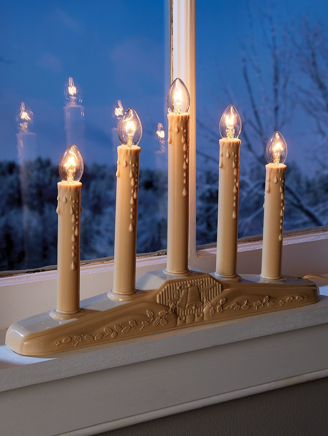 Electric Window Candle In 3 Sizes Window Candles Electric Window Candles Christmas Candle Lights