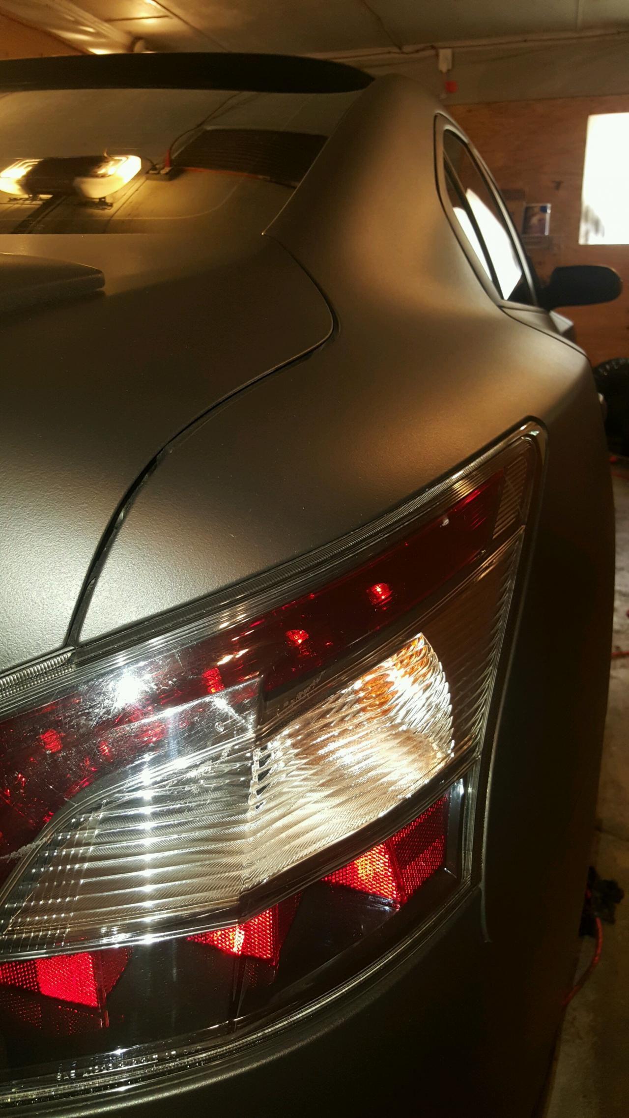 mydippedwhips - Nissan Maxima   Matte black PlastiDip   Pinterest ...