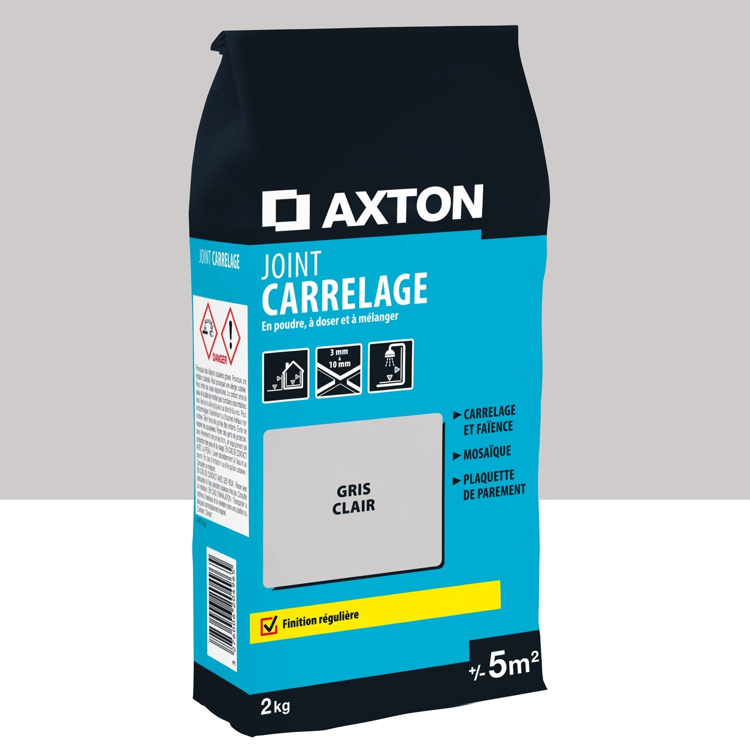 Joint Poudre Axton Axton Joint Carrelage Gris Clair 5m²