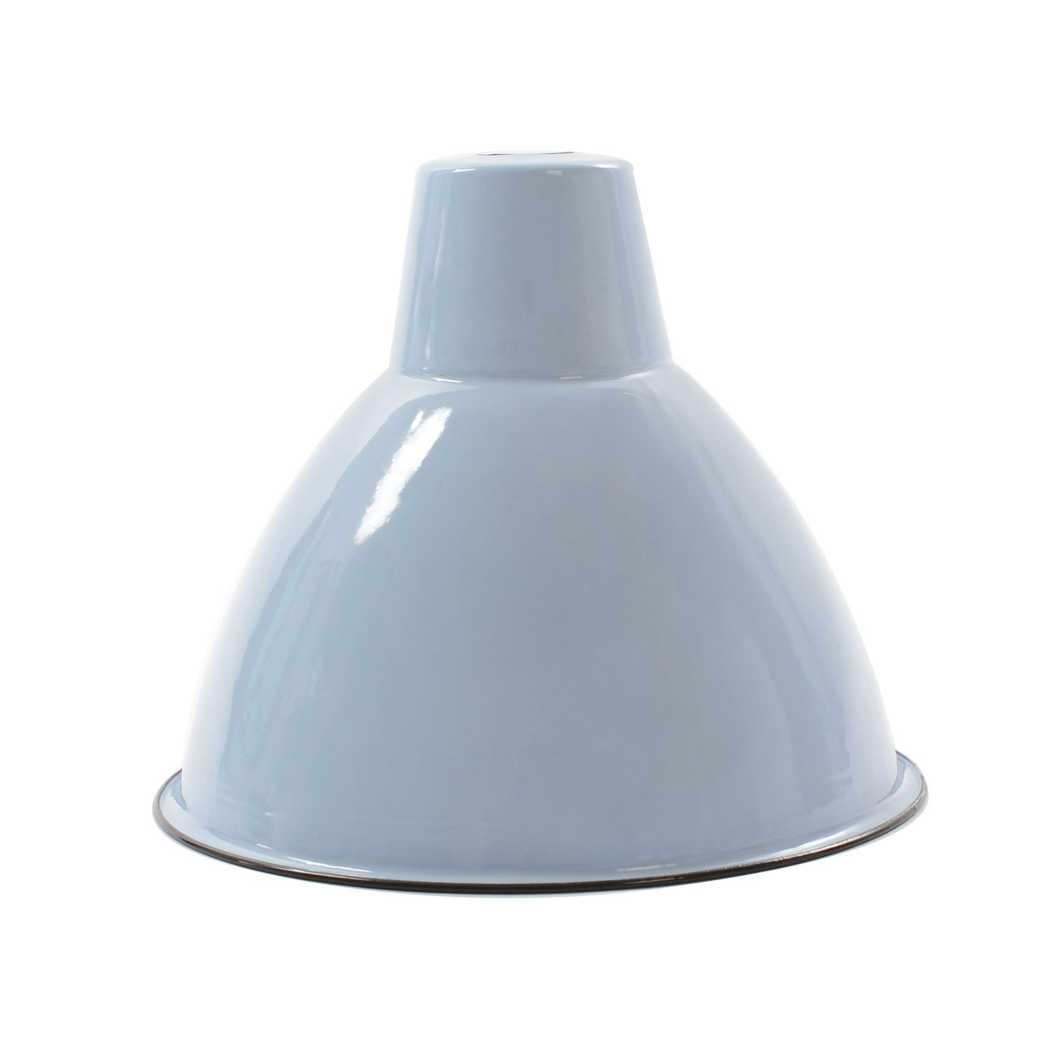 Dyke & Dean Small Blue Dome Enamel Pendant Light Shade