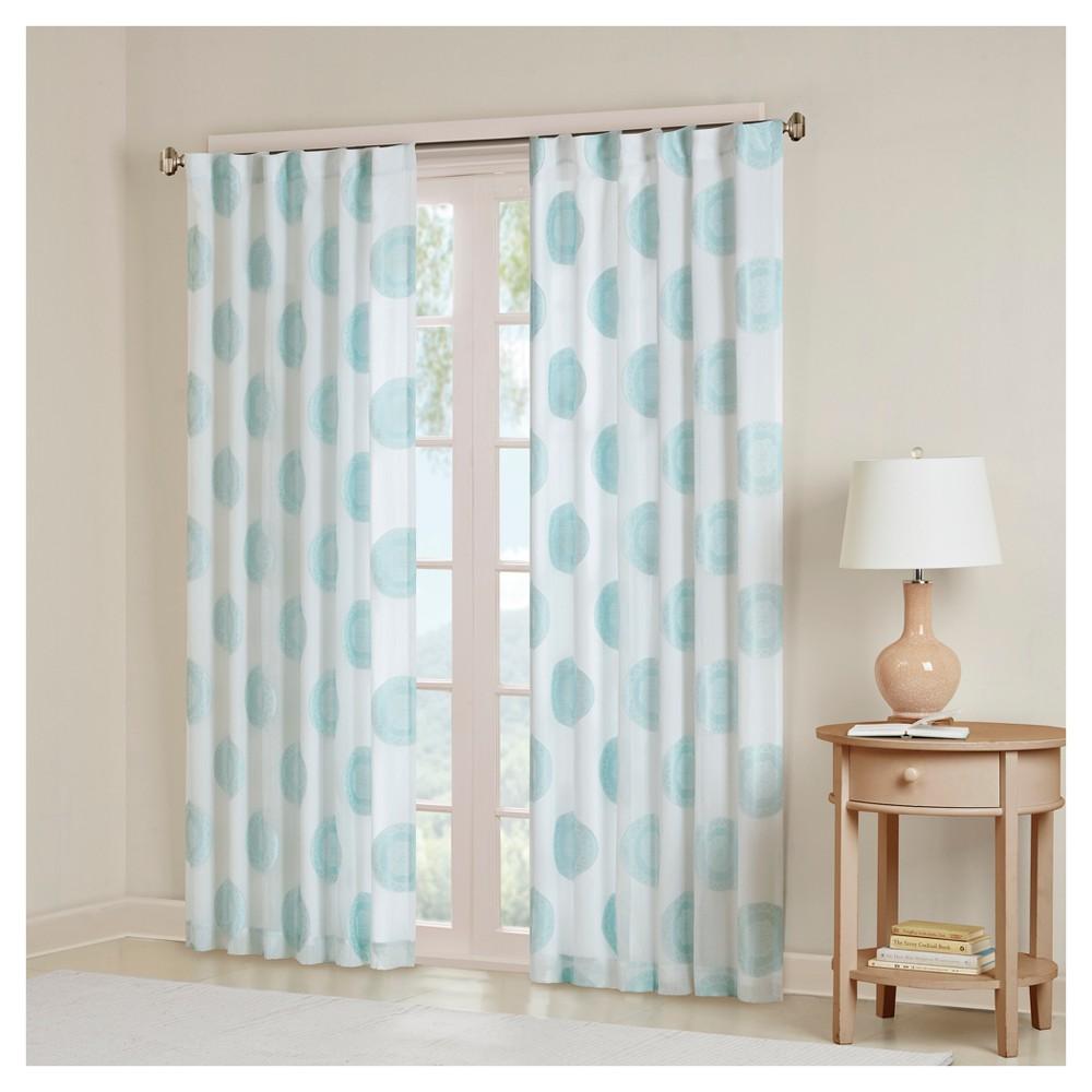 Medallion Window Curtain Panel