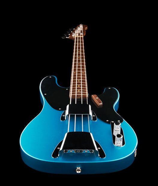 Fender 51 P Bass Walnut Lpb Mbdg Fender Bass Guitar Telecaster Bass Bass Guitar