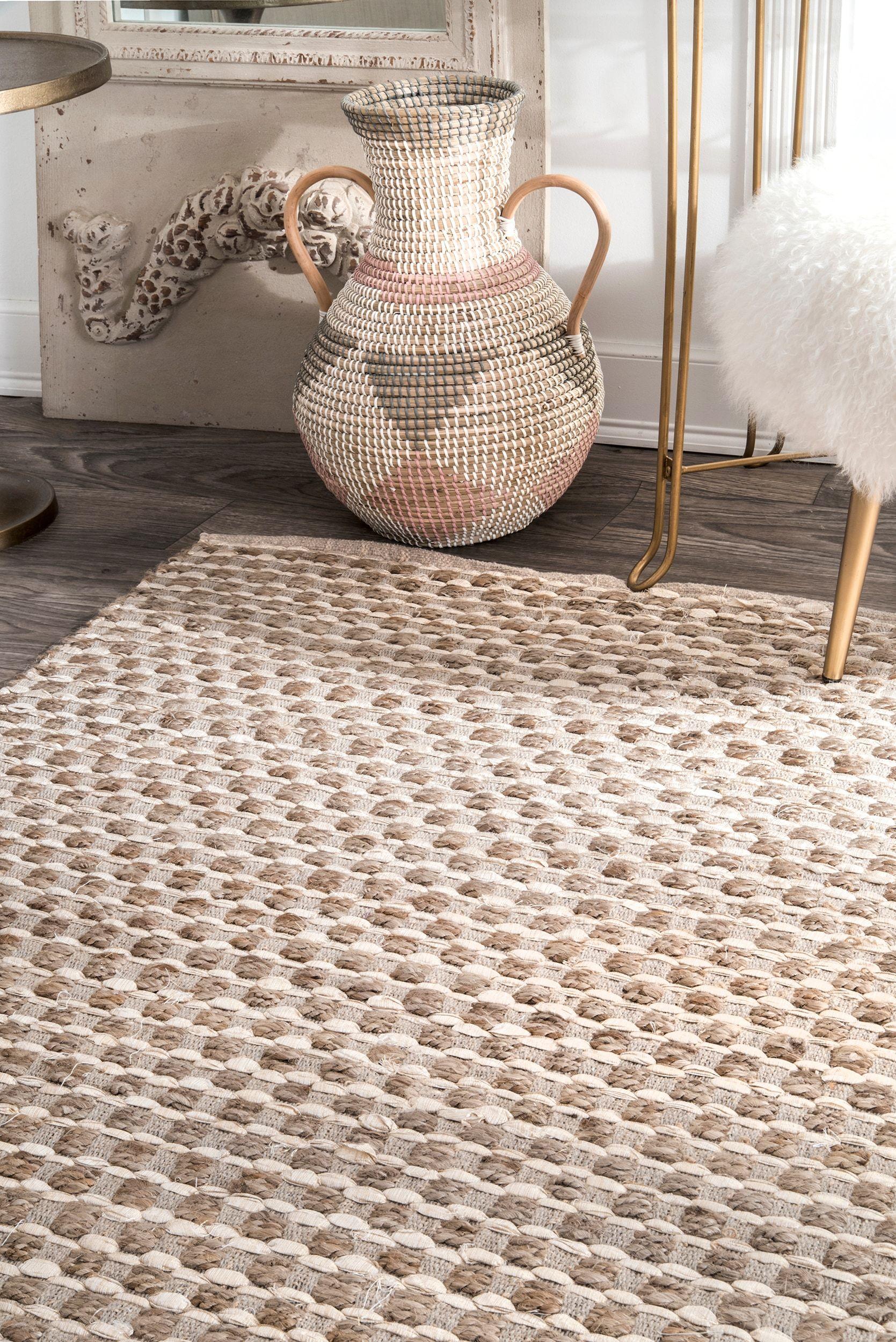 Rugs USA Posada Textured Basketweave RUG (With images