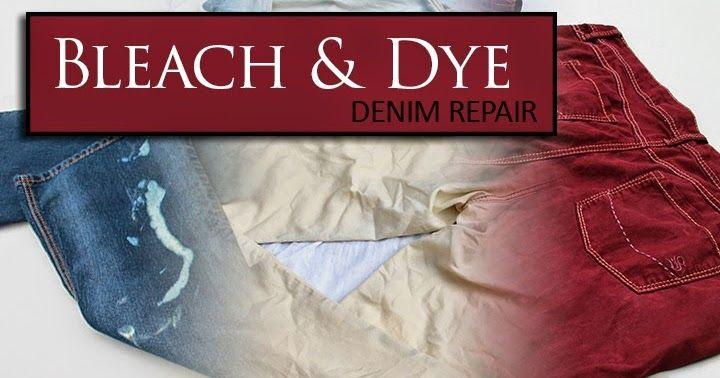 how to bleach dye jeans