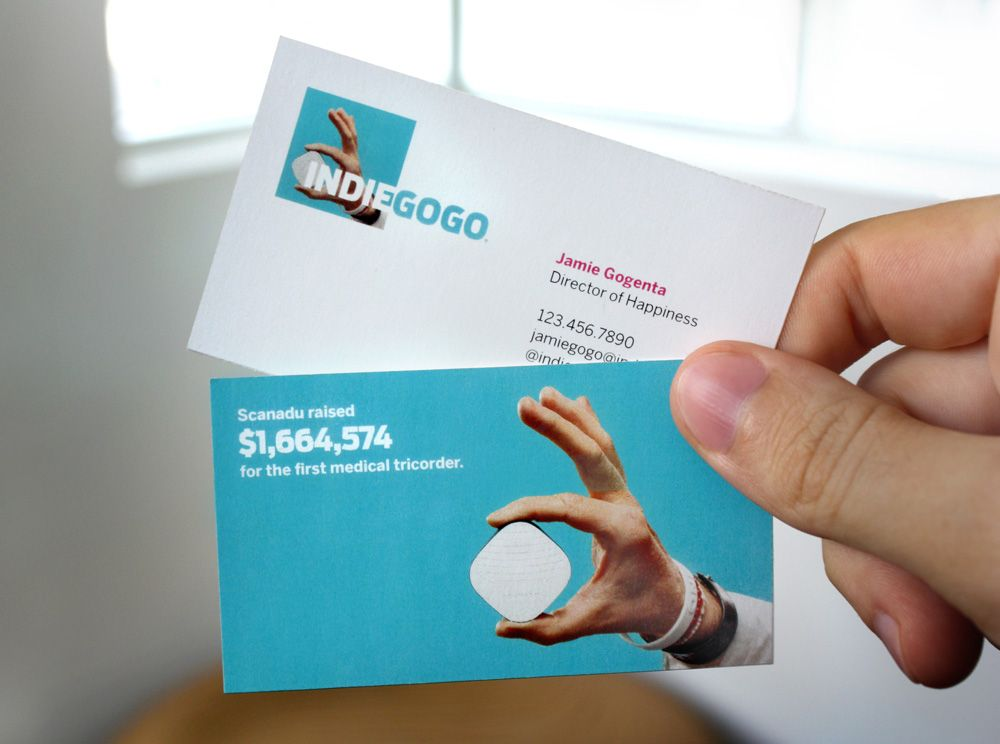 Reviewed: New Logo for Indiegogo by PUSH Offices