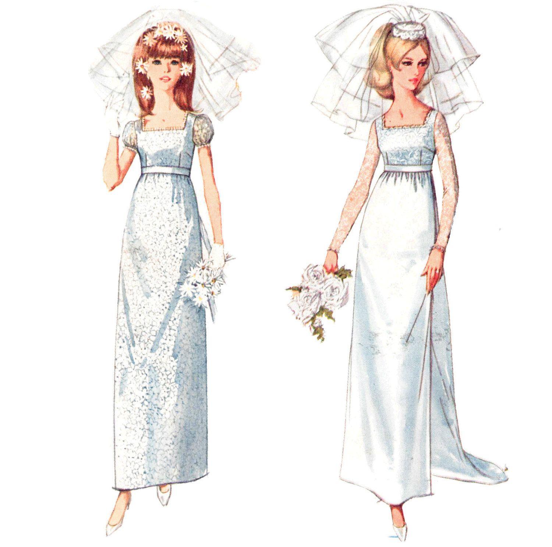 S wedding gown bridesmaidsu or evening by patternandstitch