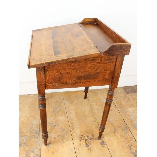 Image of Antique Small Slant-Top Desk - Image Of Antique Small Slant-Top Desk Furniture Pinterest
