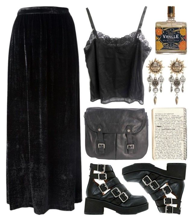 Pure Morning By Deca Froses Liked On Polyvore Featuring Attic And Barn And River Island Clothes Goth Outfits Aesthetic Clothes