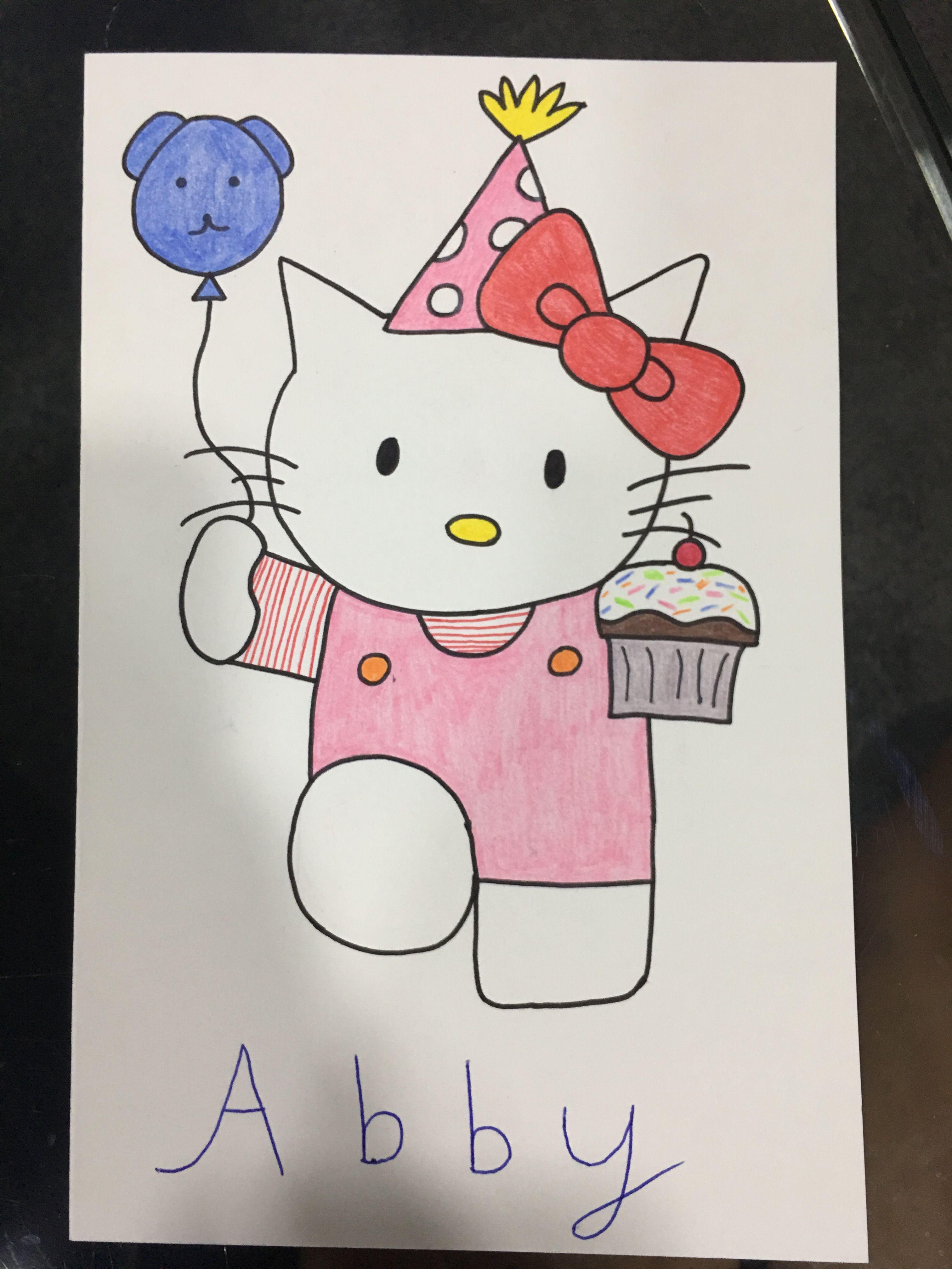 Hello Kitty Birthday Card Hello Kitty Birthday Cards Hello Kitty