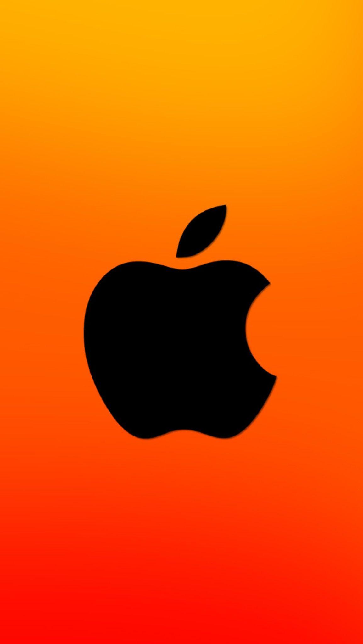Wallpaper iPhone X Apple logo rainbow 4 Apple logo