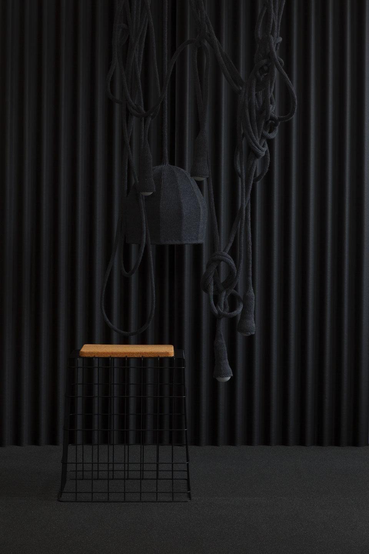 Awe Inspiring Llot Llov Grit Wiring Stool With Cork Seating Platform Inzonedesignstudio Interior Chair Design Inzonedesignstudiocom