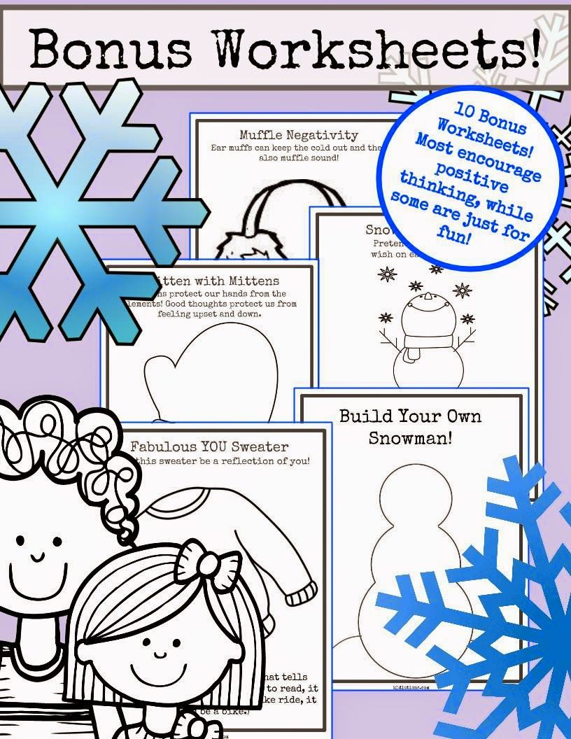 Snowflakes Self Esteem And Self Confidence School Counseling Activities Helping Kids Counseling Activities [ 1056 x 816 Pixel ]