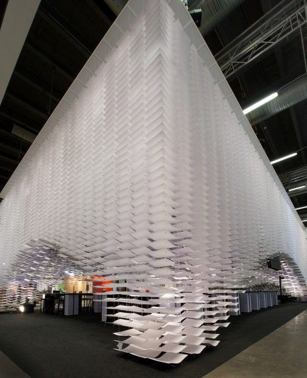 Exhibition Booth Installation : Image result for paper installation