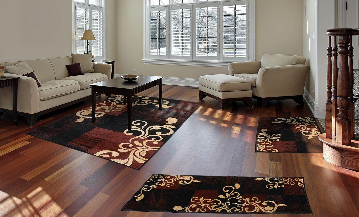 marvelous 3 Piece Rug Sets Cheap Part - 7: 3 Piece Rug Sets For Living Room