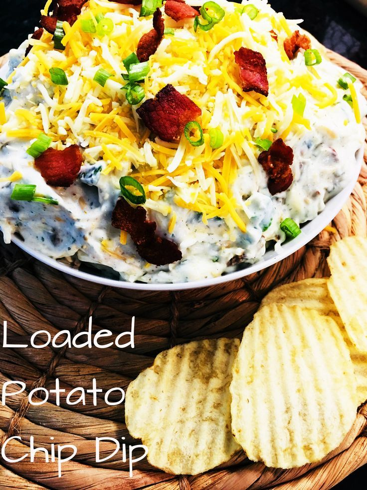 Loaded Potato Chip Dip Recipe Must Try Recipes