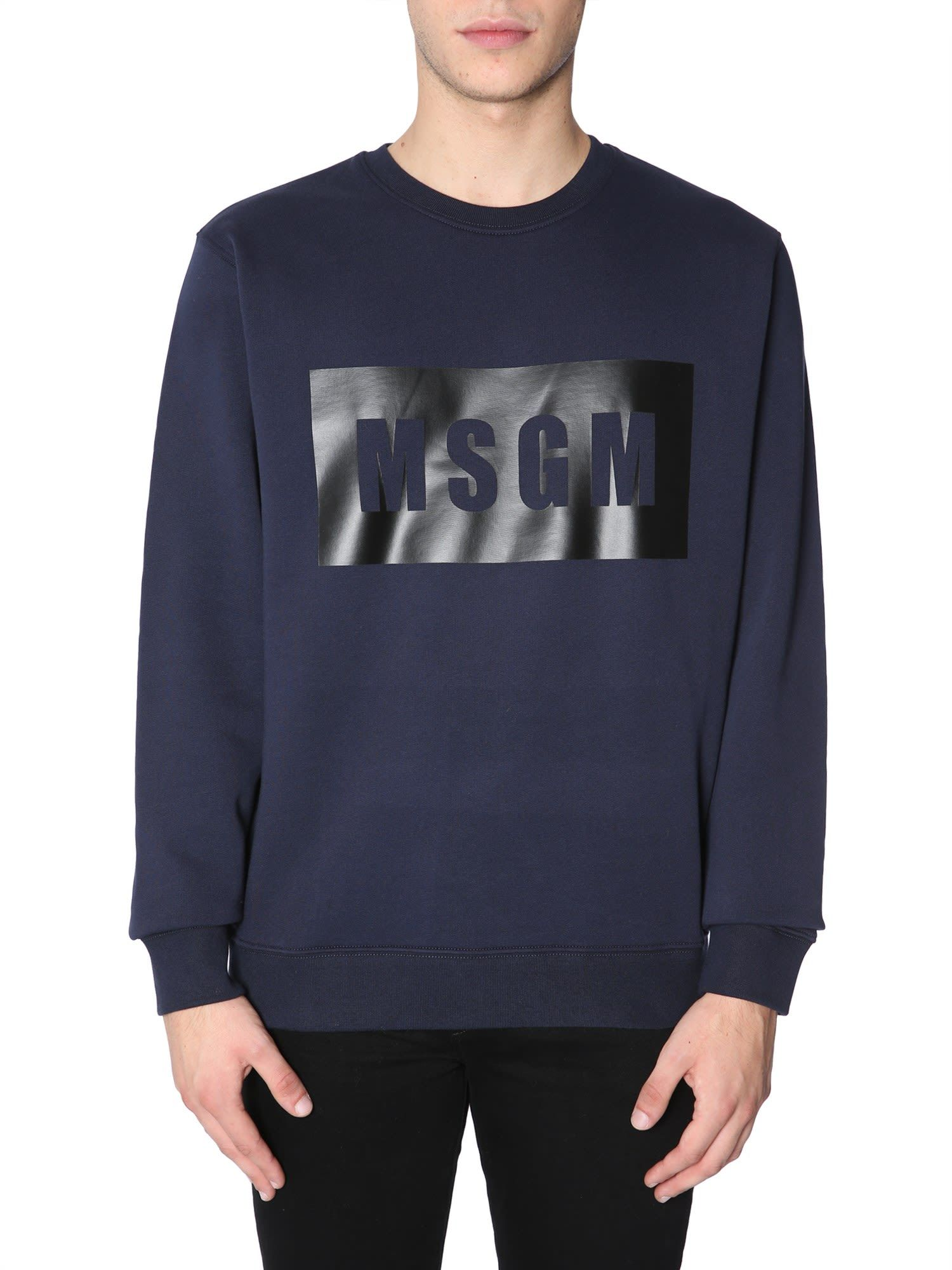 Logo Box msgm cloth Printed Sweatshirt Pinterest Msgm d5Iqwxagd
