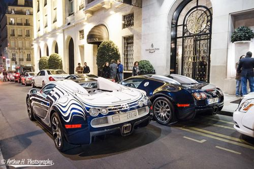 Car Information Bugatti Veyron Supercar On The Streets Of Paris Ceramics Bugatti Veyron Super Cars Veyron