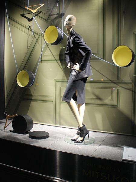 """MITSUKOSHI,Ginza,Tokyo, Japan, """"Strings Attached"""",  creative by MADO, pinned by Ton van der Veer"""
