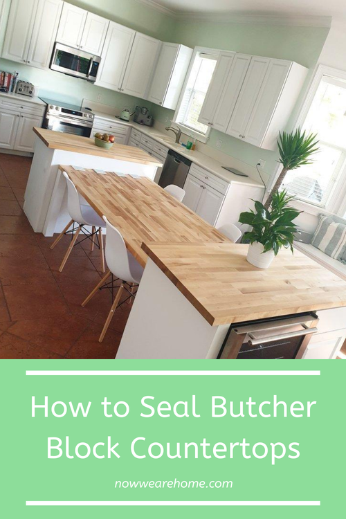 How to Seal Butcher Block Countertops with Waterlox in