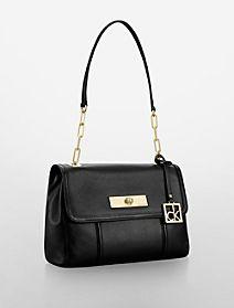 caitlin leather shoulder bag $159.50