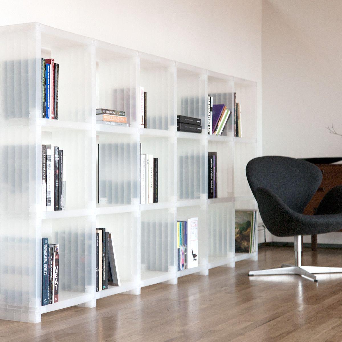 Cubitec Shelving System Clear By Cubitec Cubitec Shelving Shelving Modern Home Furniture