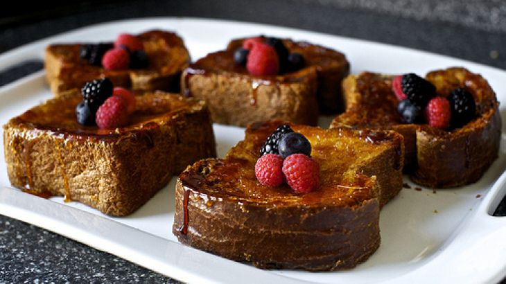 Cr�me Br�l�e French Toasts