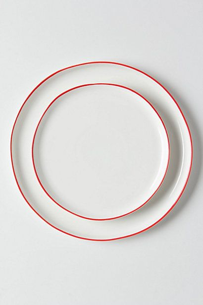 beautiful plates by Anthropologie