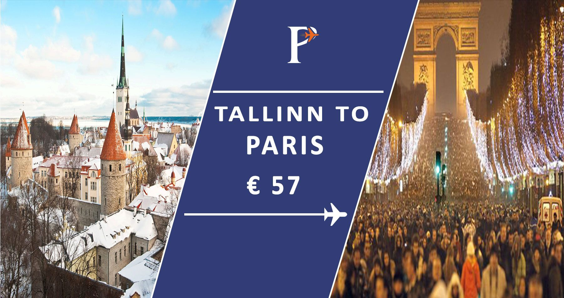 Cheap flights from Tallinn_to_Paris Search and compare