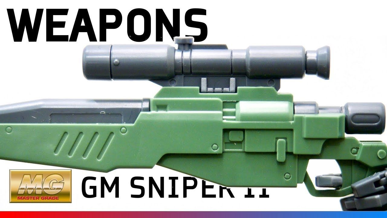GM Sniper II (MG) (Part 5: Weapons)