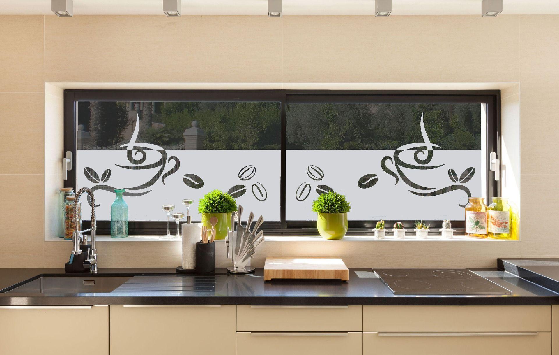 Pellicola adesiva per vetri coffee accessori casa di - Pellicola vetri casa ...