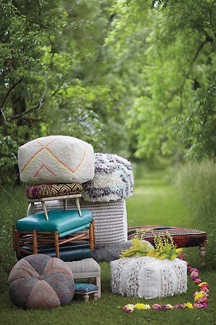 Light Study Pouf - anthropologie.com #anthrofave #anthropologie
