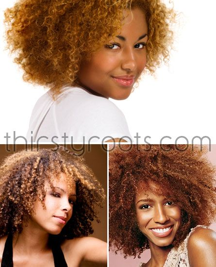 Best Hair Color For Natural African American Hair Natural African American Hairstyles Natural Hair Styles Dyed Natural Hair