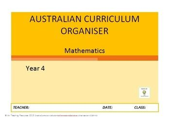 *******FREEBIE******* Australian Curriculum Organiser Maths (editable) - Y4 - Use this kit like a daily workpad for maths. Use it to implement the Australian Curriculum, organise your planning & track your students against the Content descriptors. NEW for 2015 - You can now type your students' names into the tracker & it will automatically repopulate them into the remaining checklists for you. You only type ONCE! Enjoy