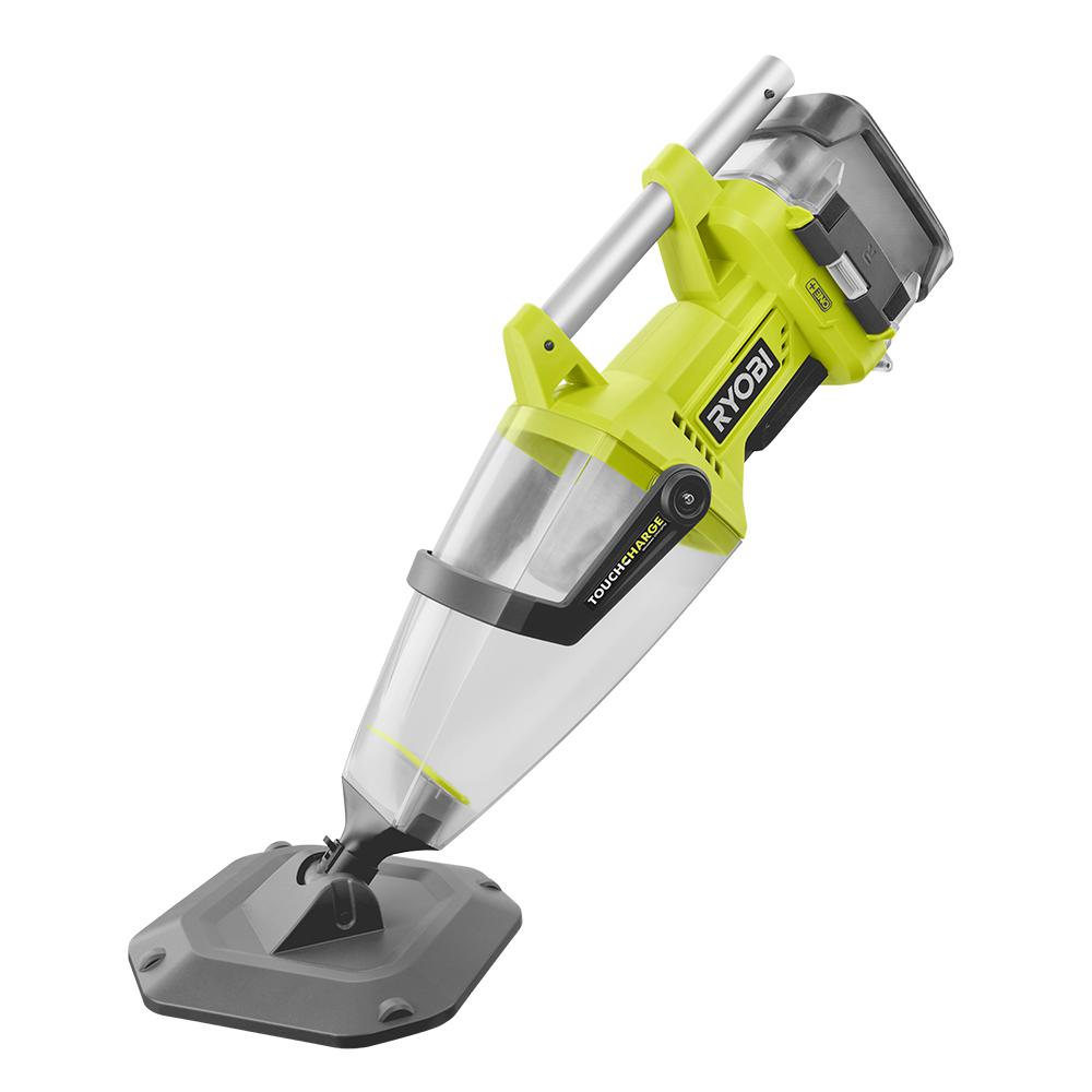 Ryobi 18 Volt One Lithium Ion Cordless Underwater Stick Pool Vacuum Kit For In Ground Pools Above Ground Pools And Spas P3500k The H
