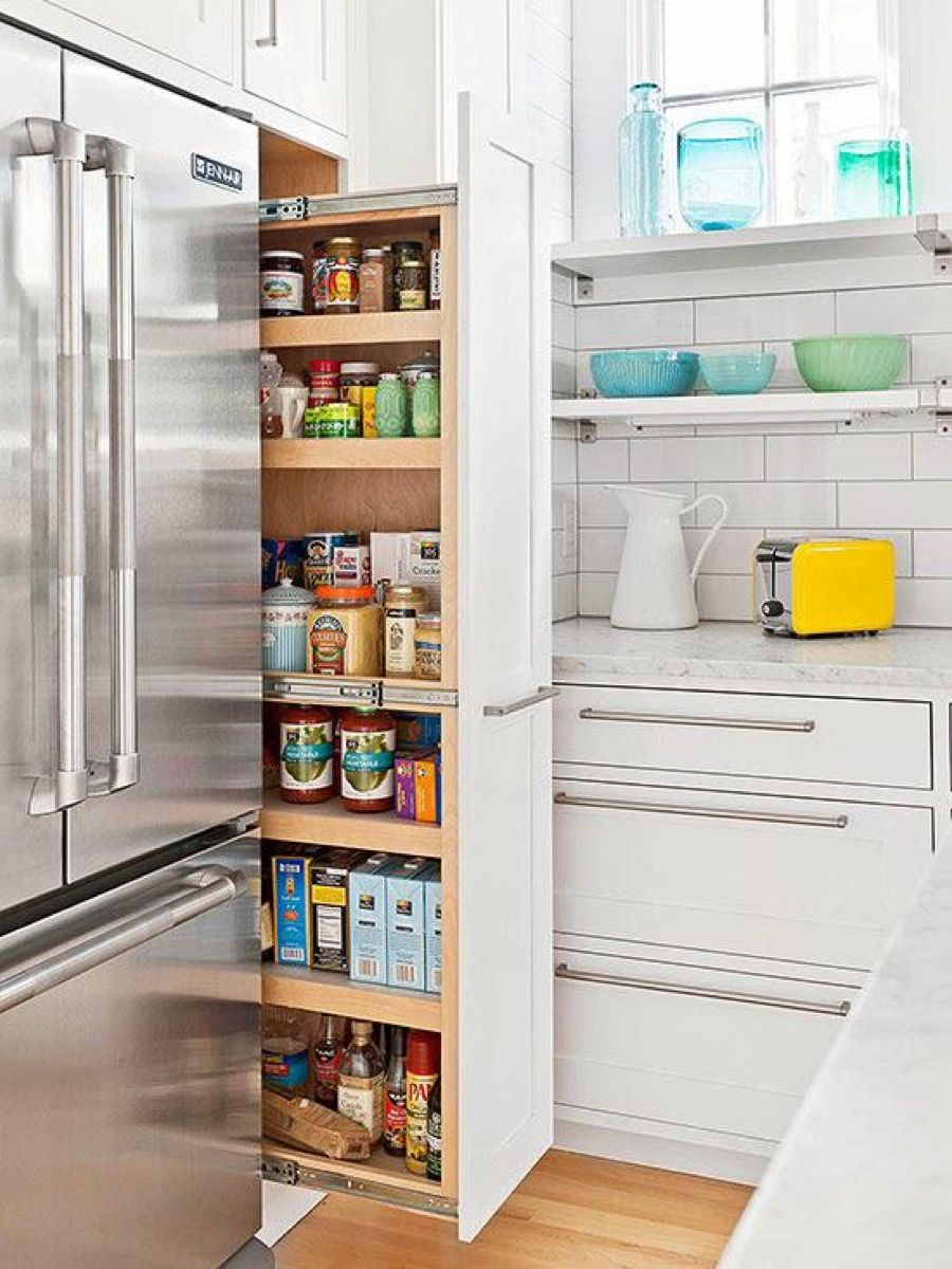 simple and clever space saving ideas for small kitchens kitchen pantry design pantry design on kitchen organization layout id=15513