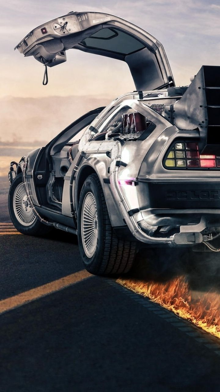 Back To The Future Iphone 6 Wallpaper 750x1334 Fondos De
