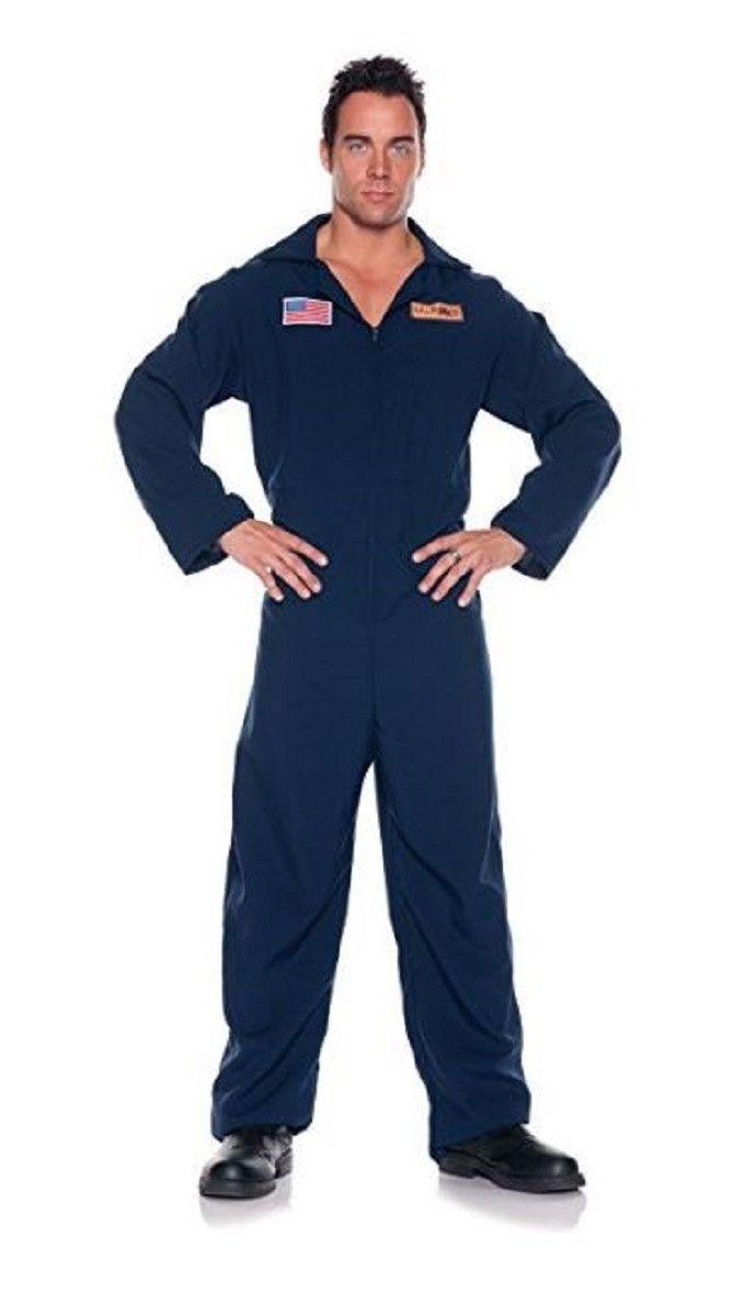 d1dab60f0a2 Underwraps Men s Marines Jumpsuit Military Onesie Costume (One Size ...
