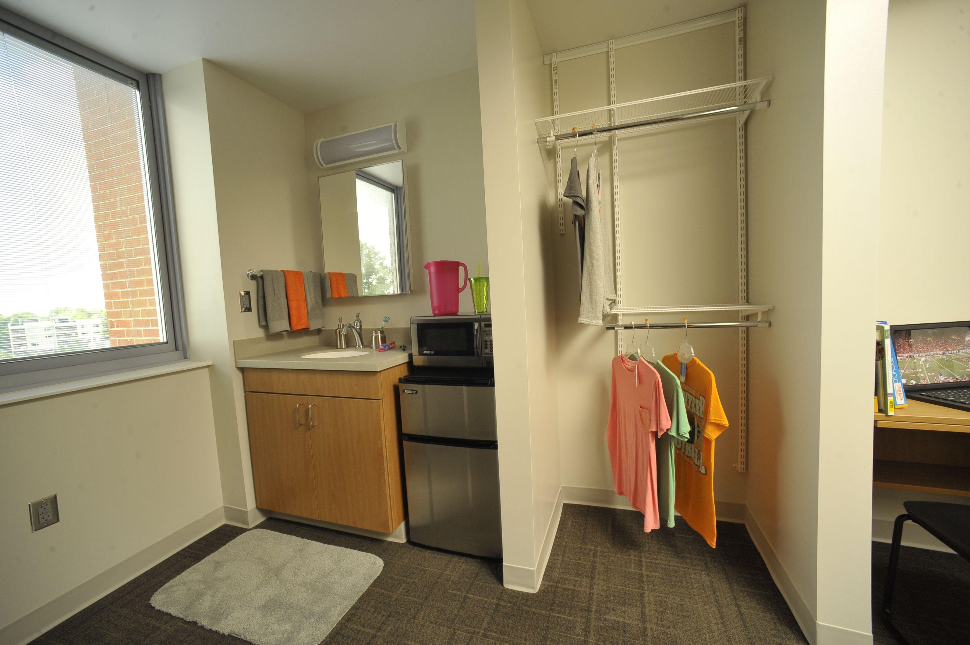 University Of Tennessee Fred D Brown Jr Hall Standard Suite Dorm Planning University Housing Dorm Room Essentials