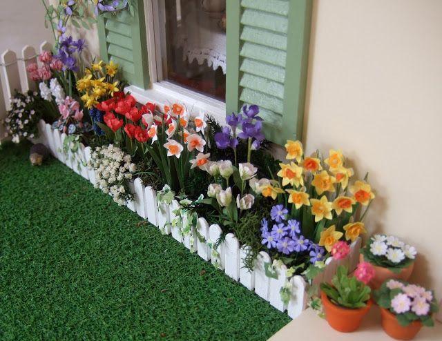 dollhouse garden landscaping