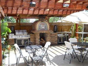 Brick Patio Designs | Patio Brick Pizza Oven Design Ideas, Pictures,  Remodel And Decor