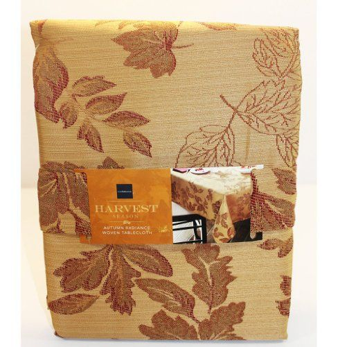 "Croft & Barrow Autumn Radiance Woven Tablecloth - 60"" X 102"" Oblong Croft & Barrow http://www.amazon.com/dp/B00JEHG9B4/ref=cm_sw_r_pi_dp_Z.9rub0SCYGMY"